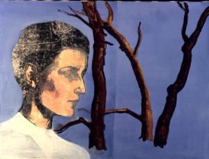 "Christina Schlesinger, ""Romaine's Peter,"" 1994, oil on canvas."